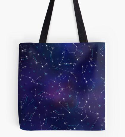 Constellation Intrigue Tote Bag