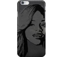 The gRey Series - R iPhone Case/Skin