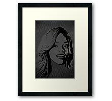 The gRey Series - R Framed Print