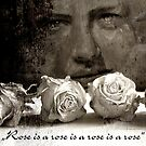 ROSE quote - vintage by ARTito