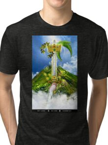 Ace of Swords Tri-blend T-Shirt