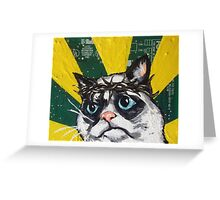 Passion of the Cat Greeting Card