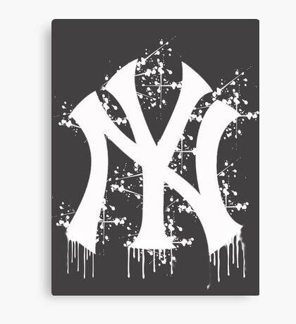 yankee splatter Canvas Print