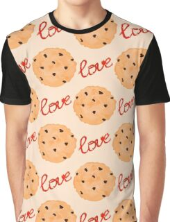 Cookies pattern. Sweet pattern Graphic T-Shirt