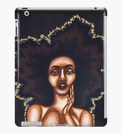 BEAUTY IN THE DARK iPad Case/Skin
