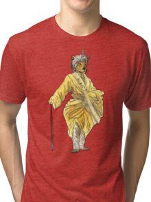Leopard Artist Tri-blend T-Shirt