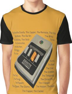 Remote Control Graphic T-Shirt