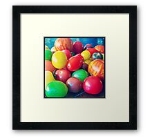 Medley of Tomatoes Framed Print