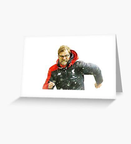 Klopp Celebration Greeting Card