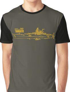 Space Battleship Yamato Graphic T-Shirt