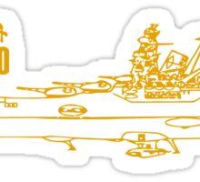 Space Battleship Yamato Sticker