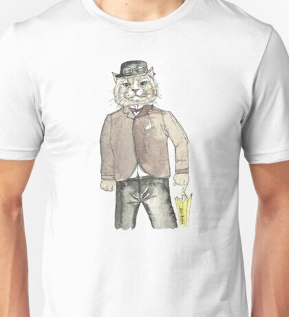 Gentleman Cat Unisex T-Shirt