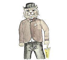 Gentleman Cat Photographic Print