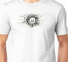 Black Mirror - Glass Smiley - Black Unisex T-Shirt