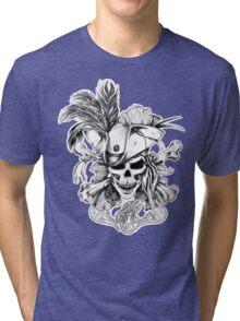 Skull and Crossbones Tri-blend T-Shirt