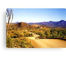 Winding through the Flinders Ranges Canvas Print
