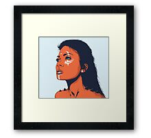 Disguise Framed Print