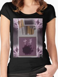 Gastly Cigs Women's Fitted Scoop T-Shirt