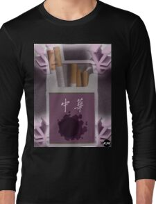 Gastly Cigs Long Sleeve T-Shirt