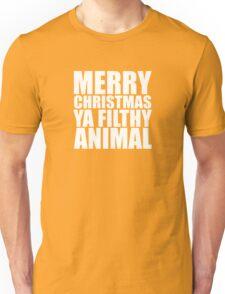 Merry Christmas Ya Filthy Animal Unisex T-Shirt