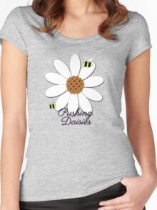 Pushing Daisies Women's Fitted Scoop T-Shirt