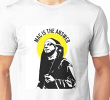 mac is the answer  Unisex T-Shirt