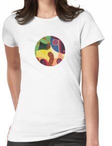 nuestro cuerpo como un imán 2 Womens Fitted T-Shirt