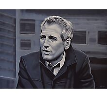 Paul Newman Painting Photographic Print