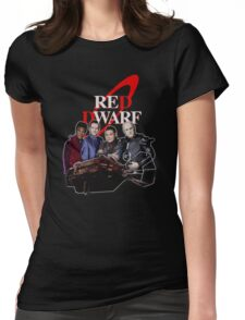 RED DWARF - SHIP AND CREW Womens Fitted T-Shirt