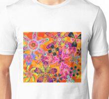 Floral Kaleidoscope 3 Unisex T-Shirt