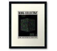 Star Trek - Travel Poster (Borg Collective) Framed Print
