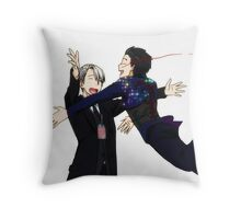 Jump! - Yuri!!! on Ice Throw Pillow