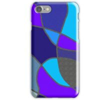 Blue Shades and Textures  iPhone Case/Skin