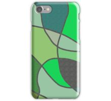 Green Shades and Textures iPhone Case/Skin