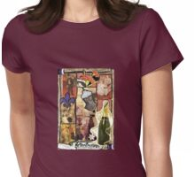 The World Of Toulouse Lautrec Womens Fitted T-Shirt