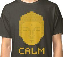 Calm pixel art buddha Classic T-Shirt