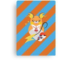 Cutie Pokemon – Raichu! Canvas Print