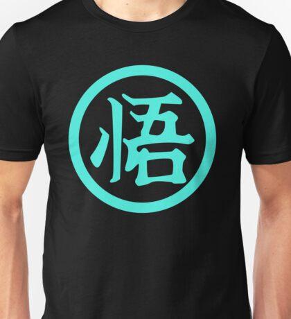 New Dragon Ball Z  Luminous - Goku Symbol Large King Kai Training Unisex T-Shirt