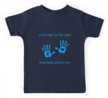 Handprints - Blue Kids Tee