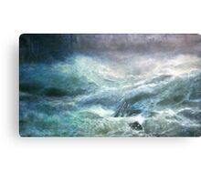 A Wave Canvas Print