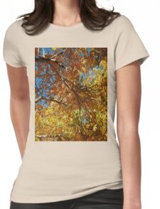 Abstract Garden Womens Fitted T-Shirt