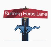 Running Horse Lane One Piece - Short Sleeve