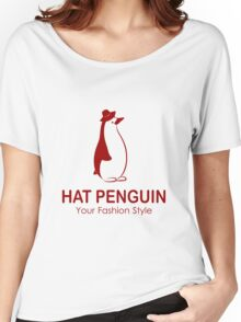 HAT PENGUIN Women's Relaxed Fit T-Shirt