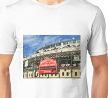 Wrigley Field With World Series Champions Marquee Unisex T-Shirt