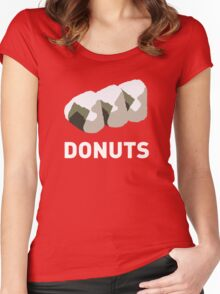 Jelly Donut Women's Fitted Scoop T-Shirt