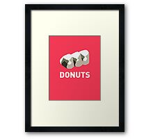 Jelly Donut Framed Print