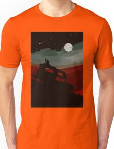 Camper moments fullmoon and stars by night Unisex T-Shirt