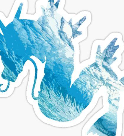 Gyrados used surf Sticker