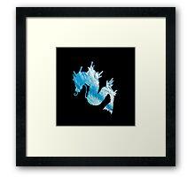 Gyrados used surf Framed Print