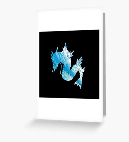Gyrados used surf Greeting Card